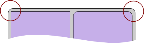 Rounded rectangle mistakes